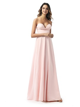 Sweetheart A-Line Empire Waist Bridesmaid Dress 2020