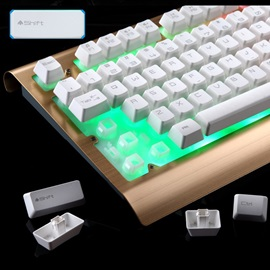 Wired USB 2000DPI Optical Mechanical Keyboard And Mouse Set