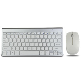 Mini Ultra-Thin 78 Keys 2000DPI Wireless Keyboard & Mouse Combo