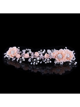 Ladylike High-Grade Manual Bridal Headpiece With Pearl