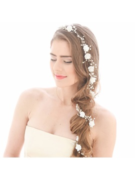 European Hair Rope Hair Accessories (Wedding)