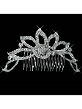 Charming Alloy with Rhinestone Wedding Bridal Tiara
