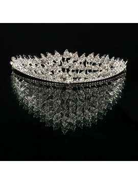 Rhinestone Embellished Alloy Wedding Tiara