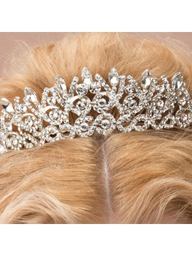 Exquisite Rhinestone Bridal Wedding Tiara