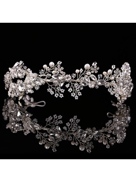 Charming Branch Design with Rhinestone Wedding Tiara