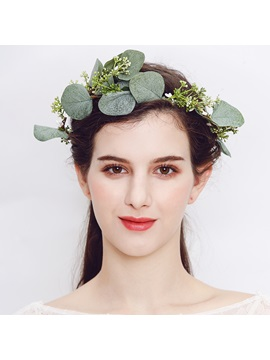Hairband Plant Hollow Out Hair Accessories (Wedding)