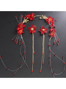 Floral Handmade Earrings Jewelry Sets (Wedding)