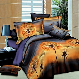 Personalized Free Dandelion Printed 3D Bedding Set
