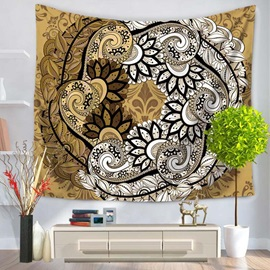 Vintage Mandala Pattern Ethnic Style Hanging Wall Tapestries
