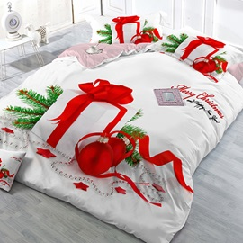 Christmas Gift Image 4 Piece Bedding Sets