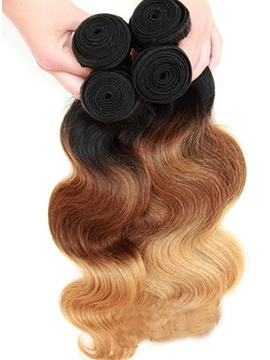 Body Wave 1B/4/27 Human Hair Weave 1 PC