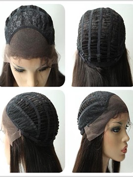 Top Quality Medium Layered Straight Lace Front Synthetic Wig 14 Inches