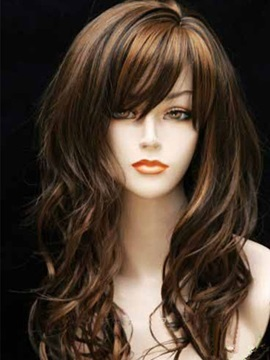 Curly Women Synthetic Hair Capless Wigs 12 Inches