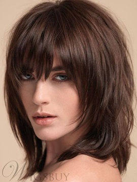 Women Synthetic Hair Capless Wigs 12 Inches