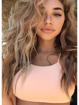 Fashionable Long Loose Wave Layered Synthetic Hair Capless Wigs for Women 26 Inches