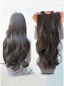 Olympic Passion Silky Super Natural Long Wavy Human Hair Weave