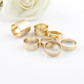 Stylish Shining Golden All-matched Ring