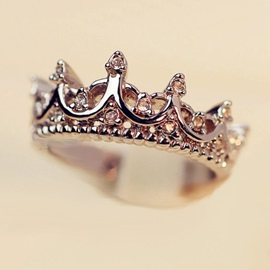 New Style Vintage Crown Ring
