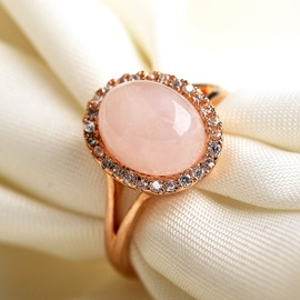 E-Plating with Zircon Women Ring