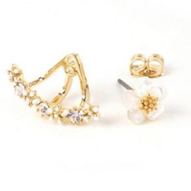Lovely Flower Stud Earrings