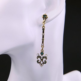 Retro Long All Matched Alloy Earrings