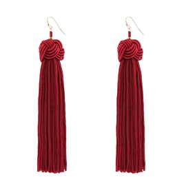 Alloy European Hot Sale Tassel Earrings
