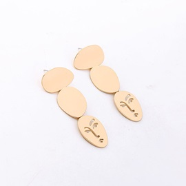 Facial Mask Simple Earrings