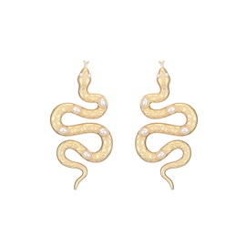 E-Plating Korean Alloy Birthday Earrings