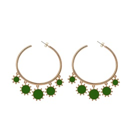 Alloy Korean Geometric Gift Earrings