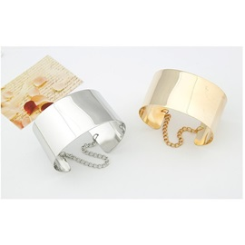 Chic OL Style High Quality Metallic Opening Cuff Bangle
