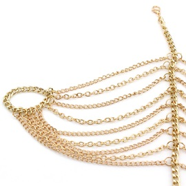 Multilayer Tassels Chain Bracelet for Women
