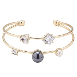 Double Layers Gold Plated Bracelet