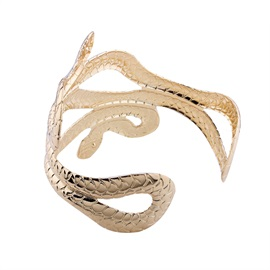 Snake Shape Halloween Party Metal Bangle