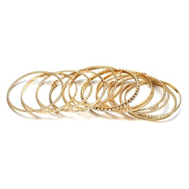 Diamante Fashion Golden Bracelet