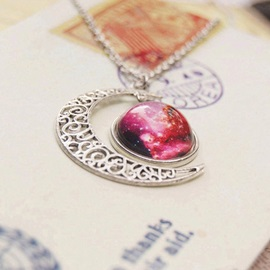 Starry Sky Vintage Style Women Necklace