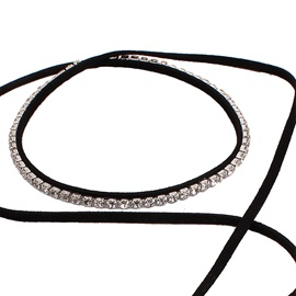 Multilayer Rope Diamante Choker Necklace