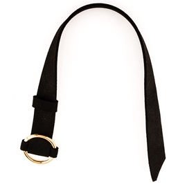Retro O-Ring PU Leather Collar Necklace