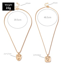 E-Plating  Pendant Necklace Unisex Necklaces