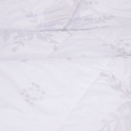 Solid White Supr Soft Silky Hollow Fiber Filled Quilt