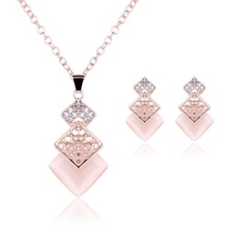 European Style Fashion Women Jewelry Set ( Including Necklace and Earrings )