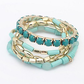 European Alloy Multi-layer Bracelet for Women