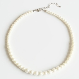 Elegant Artificial Pearl Short Necklace