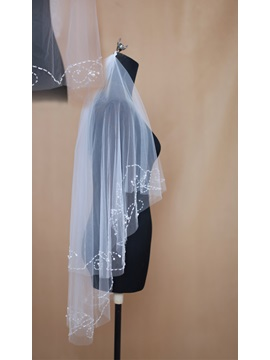 Best Selling Two Layer Elbow Wedding Bridal Veil