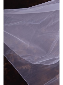 Simple Style Elbow Tulle Wedding Veil