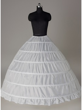 High Quality Ball Gown Six Steel Loops Wedding Petticoat