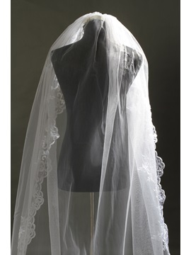 Faddish Tidebuy Cathedral Stryle Lace Wedding Veil