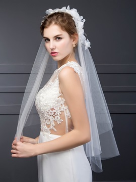 High Quality Flower Wedding Veil