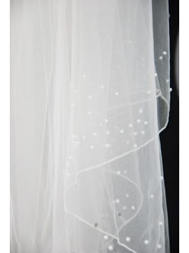 Floral Edge Wedding Bridal Veil LE51020