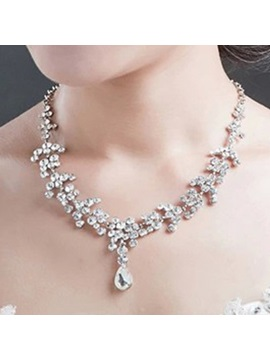 Headpiece Korean Diamante Jewelry Sets (Wedding)