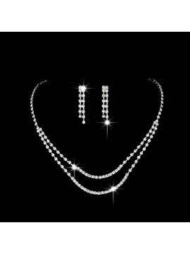 European Floral Necklace Jewelry Sets (Wedding)
